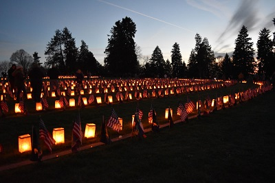 Remembrance Day Illumination